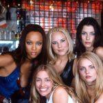 Tyra Banks, Piper Perabo, Maria Bello, Izabella Miko, Bridget Moynahan posing for the camera